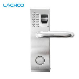 Biometric Fingerprint Electronic Door Lock Password Keypad Key Stainless Steel Latch Bolt Smart Code Lock L16074BS