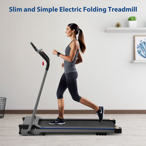 US STOCK, Simple walking electric treadmill for home use Running Machine Fitness Equipment W21506040