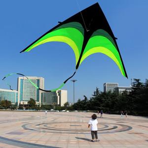 160cm Süper Huge Uçurtma Tek Hat Stunt Kites Uçurtma Açık Eğlence Spor Çocuk Uçurtmalar Yetişkin Oyuncak Eğitim Hediyeleri 1018 yeni Uçurtmalar