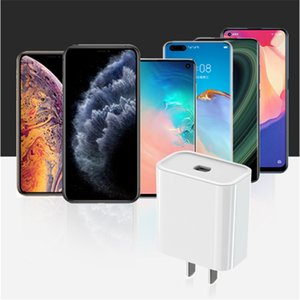 2020 New 20W Fast Mini Wall Charger USB 3.1 Type-C Power Adapter PD Charger For IPhone 12 mini Pro Max 11 XS XR White In Stock!