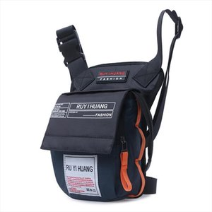 Men Nylon Waterproof Ride Leg Bag Drop Fanny Waist Bags Belt Purse Military Motorcycle Riding Waist Leg Bag Crossbody