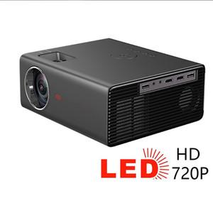 3500 LUMes Портативный проектор Mini 720P Светодиодный домашний кинотеатр 1080P 4K 130-дюймовый дисплей поддержки боковой проекции Handy Projector
