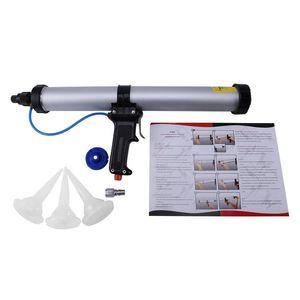 15 pouces 600ml Saucisse Pneumatique Pneumatique Outil GL Colle Tool Air Caoutchouc Caulk Applicateur 1set