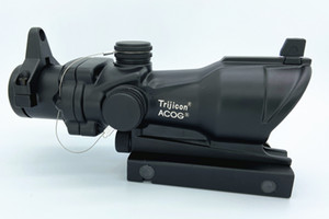 Tactical Trijicon ACOG Estilo 1x32 Red / Green Dot Rifle Scope