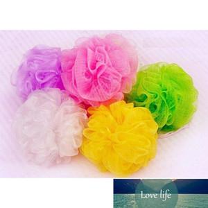 5pcs Flower Ball Bath Sponge With Body Exfoliate Puff Spa Loofah Mesh Body Exfoliate Puff Sponge Mesh Shower Balls Color Random