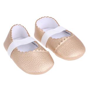 0-6M Baby Toddler Обувь Кружева PU Танцевальные Обувь Нескользящая Оксфорд Нижнее Детское Малыш Девушка Сад 11см