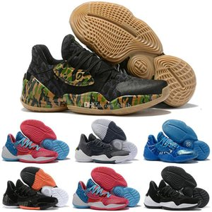 2020 New James harden 4 vol.4 Kids Basketball Shoes Mens 4s High Quality Designer Trainers Sports Sneakers des chaussures