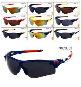 Erkekler ve Kadınlar Açık Spor Güneş Cam Gözlük Tasarımcı Güneş Gözlüğü güneş camı 9 renkleri bisiklet sürüş için güneş gözlüğü satan Sıcak