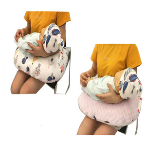 Baby Nursing Pillow Non-woven Beanie Velvet Soft Winter Nursing Pillow Multifunctional U-shaped Pregnant Woman Pillow