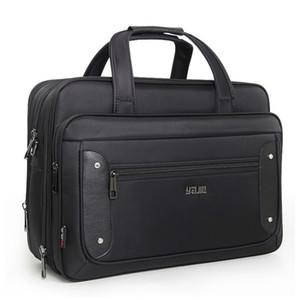 2020 Top-level Super Capacity Plus Business Men's Briefcase Women Handbags Laptop Bags 16 17 19 Inch Oxford Crossbody Travel Bag Q1104