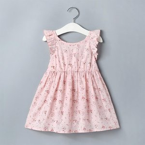 Telotuny dress has always been baby baby girl short sleeve printed Wedding Princess dress baby dress may 2020
