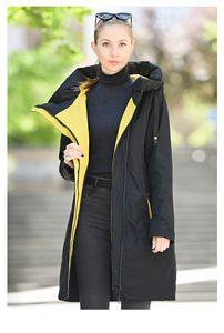 020 Designer New Spring Autumn Women´s Parkas Women Thin Cotton Jacket Long Windproof Stylish Hooded Coat Plus Size Outwear