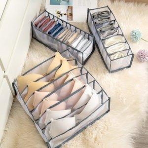 Nueva ropa interior BRA Organizador Caja de almacenamiento 3 colores Cartel Closet Organizadores Cajas para ropa interior Bufandas Calcetines Sujetador Venta caliente