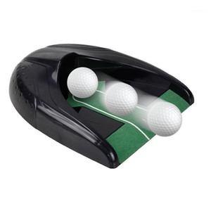 골프 훈련 에이즈 Kofull 실내 퍼팅 그린 트레이너 연습 컵 맥주 퐁 볼 반환 용품 선물