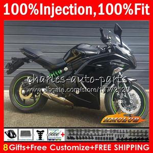 OEM Injection For KAWASAKI NINJA 650R ER6 F ER 6F ER6F 12 13 14 15 16 89HC.1 NINJA650R ER-6F 2012 2013 2014 2015 2016 Fairings glossy black