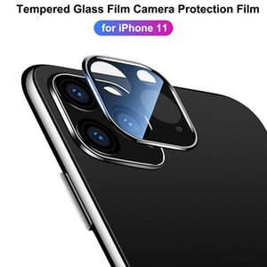 Phone Lens Screen Protector For iphone 12 11 pro max XR Samsung 3D Full Back Camera Tempered Glass Film Aluminum Metal Lens Case