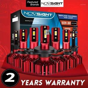 NOVSIGHT CSP H11 Led Fog Lamps H1 H3 H7 LED H4 9005 HB3 9006 HB4 Car Headlight Bulb 60W 10000LM Auto Lamp For Car Headlamp Bulbs1