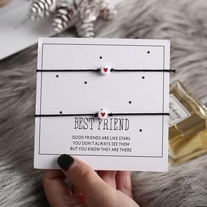 New DIY Charm Bracelet para casais 20pcs vermelho Bead Coração Pulseiras Bangles 2020 Mulheres Lucky Man desejo Jóias