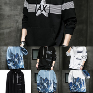 4mdYf Homme Men Sweaters Cotton Pullovers V Neck Fashion Knitted Sweater Mens Winter kevin durant sweater ClothingSolid Full Pull Knittwear