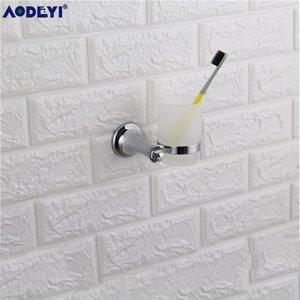 Aodeyi salle de bains Ensemble de quincaillerie en cristal Crochet Porte-papier Anneau porte-serviette de bain Accessoires Sus 304 en acier inoxydable Chrome yxlzuj