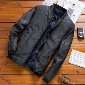 Woodvoice Winter Mens Jacket Brand Casual Bomber Jacket Men Plus Velvet Coat Male Thicken Warm Pockets Jackets Jaqueta Masculina
