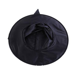 Halloween Witch Hat Masquerade Black Wizard Hat Adult Kid Cosplay Costume Accessory Halloween Party Wizard Cosplay Prop Cap VT0622