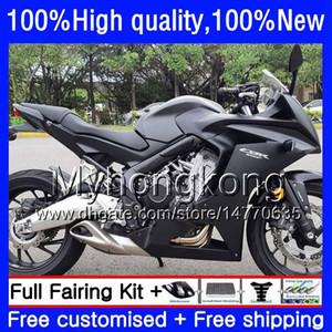 Kit para Honda CBR 650 F CBR650F 2011 2012 2013 2014 2015 53HM.16 CBR 650F CBR650 F CBR650 CBR650F 11 Matte blk novos 12 13 14 15 16 carenagens