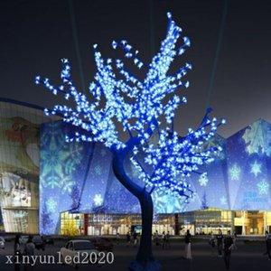 Uso 1.5M 1.8M 2M Natal Luz LED Cherry Blossom Tree Luz 110VAC / 220VAC Rainproof Outdoor Drop Shipping