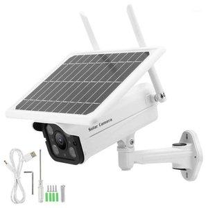 Камера CCTV 1080P Солнечная камера наблюдения 4G IP66 7W Беспроводная система беспроводной безопасности со светодиодной камерой IP661