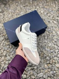 luxe fashion shoes female designer CD ghosting high heel leather casual running outdoor shoes men and women High top casual shoes
