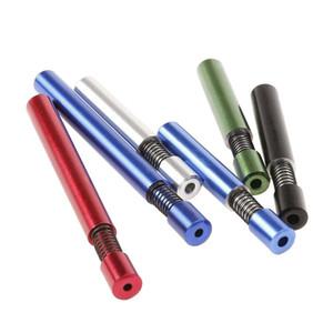 tabac créatif pipe 78mm 80mm printemps en alliage d'aluminium métal du tabac Porte-Pipe Accessoires FWC223