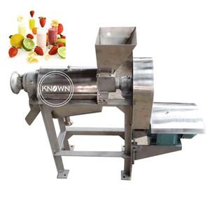 1.5-2.2kw Capacity 0.5t h juice orange machine garlic juice extractor