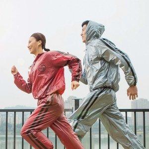 Cappotto da pioggia impermeabile da moto donna vestito sportivo uomo giacca da donna impermeabile pantaloni pioggia set da corsa in esecuzione regalo impermeabile in bicicletta 201202