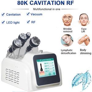 Yeni 80k Kavitasyon Makinesi Vücut Zayıflama Ultrasonik Kavitasyon RF İnce Makinesi Yüz Germe Kırışıklık Kaldırma Kavitasyon Güzellik Equipment