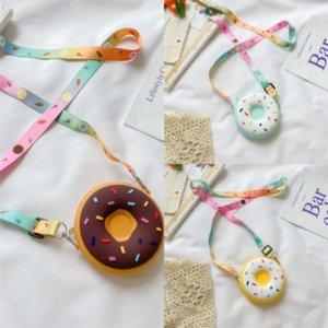 GQ2GD Lady Kadınlar Bling Donuts Dener Çanta Çanta Çocuk Çantalar Tasarımcı Sevimli Newset Omuz Çantaları Kıdemli Crossbody Çanta Yeni Moda
