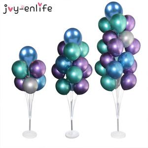 Ballons Accessoires Balloon Porte-ballon Ballon Arc Chaîne Scellant Clip Colle Dot Babyshower Mariage Annonce Décorations de fête