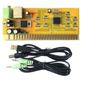 Игровые контроллеры джойстики аркадного контроллера двойной джойстик аксессуары управления для Kof Super Contra Street Fighter Game1