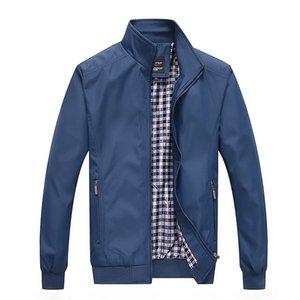 Bsethlra 2020 erkek sonbahar moda uzun kollu erkekler kalite mont rahat jaqueta masculina ceketler marka giyim