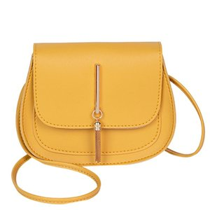 New Arrival Simple Flap Shoulder Bags For Girls Purse Clutch Retro Pu Leather Women Handbag Lady Saddle Crossbody Messenger Bag