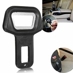 Dual-use Universal Car Safety Belt Clip Buckle Protective Lock Bottle Opener Universal Car Vehicle-mounted Bottle Openers AHC2690