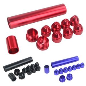 11PCS / مجموعة سبيكة الألومنيوم الوقود استبدال تصفية السيارات قطع فخ السيارات المذيبات ل 1 / 2-28 نابا 4003