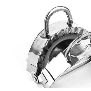 Diy Пельмени инструмент из нержавеющей стали пресс-пельмени машины Jiaozi Maker устройство Easy The Fompling Blok Block Kitchen Gadge SQCJFQ BBGARGDDON
