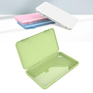 Dustproof Mask Case Portable Disposable Face Masks Container Safe Pollution-Free Disposable Mask Stoage Box Storage Bins BEE1214