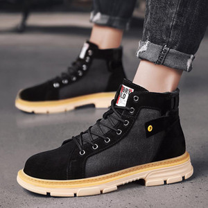 sport flat sneakers black man sports footwear boots Casual Mens sale sneaker men casual leather shoes 2020 fashion zapatillas