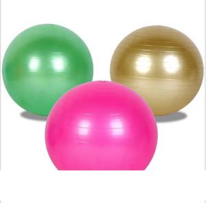 Йога фитнес erercise Болл Толстые взрывозащищенный Массажные шарики прыгающий мяч Гимнастические пилатес тренировки Шары 45 55 65см 5 цветов Оптовые