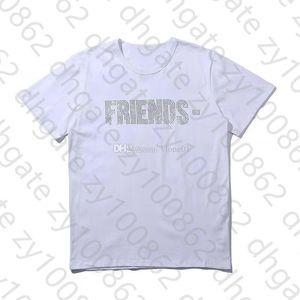 Womens T Shirt Tees Hip Hop Womens Tops Friends Cotton Short Sleeve Big Women Mens T shirt