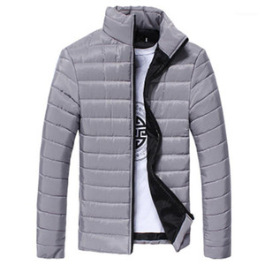 2019 Autumn Winter puffer Duck Down Jacket Ultra light Men 90% Coat Waterproof Down Parkas Fashion mens collar Outerwear coat1