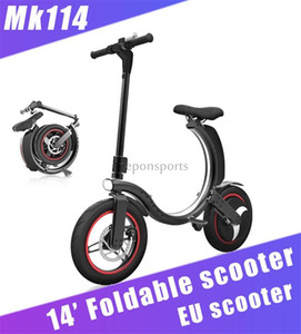 Keeponsports 2021 New Mankeel Mini Foldable Electric Scooter Bicycle Portable Light Electric Bicycle Balancing Scooter MK114