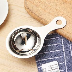 Wholesale Kitchen Accessories Food Grade Stainless Steel 304 Egg Yolk White Divider Separators Dividers