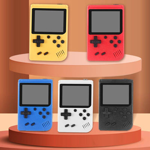 Mini Game console portatile Retro Portable Video Game Player in grado di memorizzare 400 giochi a 8 bit 3.0 pollici LCD colorato Cradle design